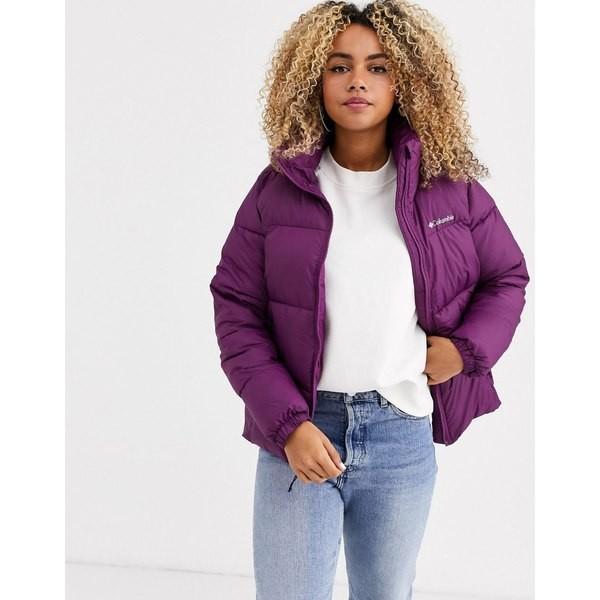 ★お求めやすく価格改定★ コロンビア レディース コート アウター Columbia Puffect jacket in purple Purple, TOYO LABO Shop b446001a