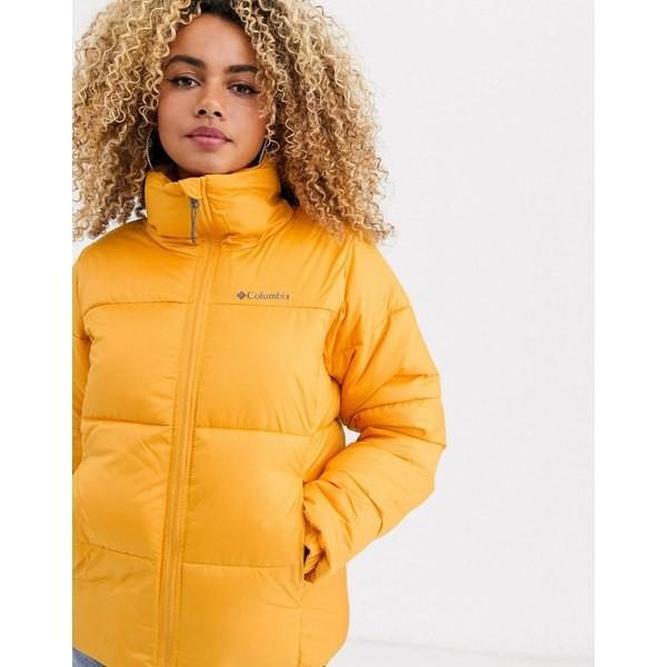 超格安一点 コロンビア レディース コート アウター Columbia Puffect jacket in yellow Yellow, 灯台美ハーブ園 171d99bd