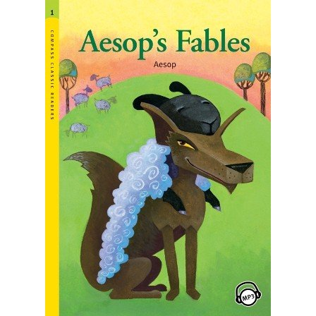 Level 1: Aesop's Fables with MP3 CD/イソップ童話名作集/洋書/多読 ...