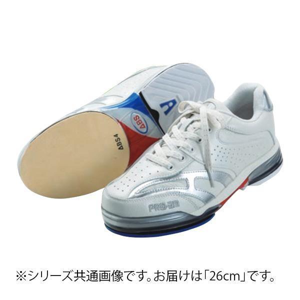人気満点 ABS ボウリングシューズ ABS CLASSIC 左右兼用 ホワイト・シルバー 26cm, JEANSBUG(ジーンズバグ):605aee5c --- airmodconsu.dominiotemporario.com