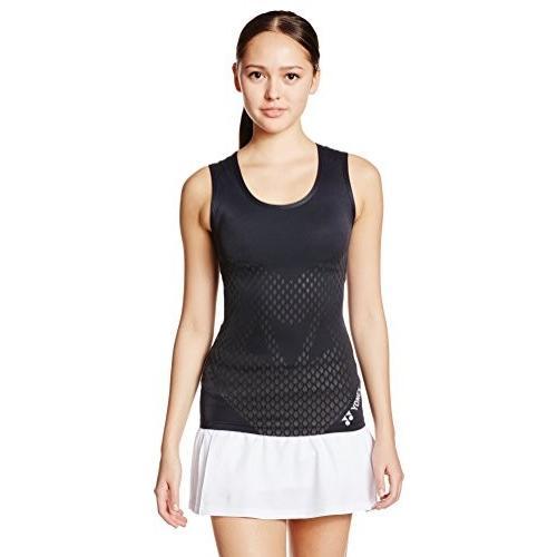 【送料無料】[ヨネックス] テニス シャツ STBA1505 レディース ブラック 日本 L-(日本サイズL相当)【在庫限り】