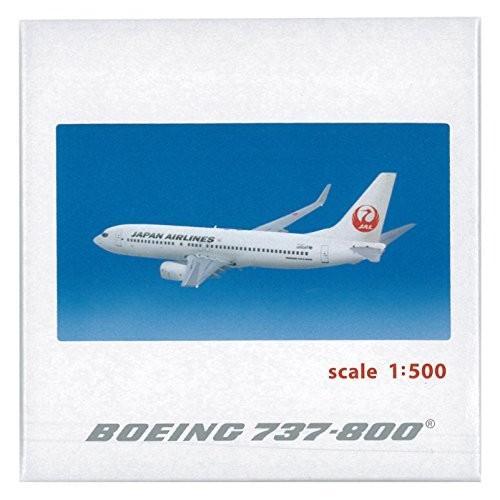【送料無料】ジャルックス 1/500 B737-800 JAL 完成品【在庫限り】
