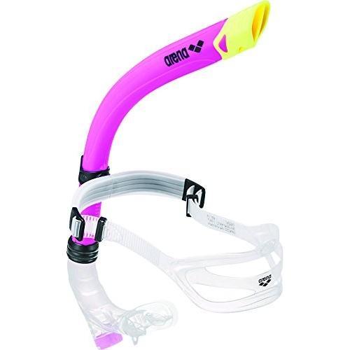 【送料無料】arena(アリーナ) シュノーケル 水泳 練習用 フリーサイズ ARN-4439 ピンク(PNK)【在庫限り】