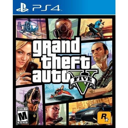【送料無料】Grand Theft Auto V (輸入版:北米) - PS4【在庫限り】