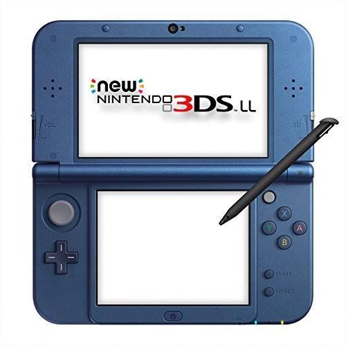 【送料無料】Newニンテンドー3DS LL メタリックブルー【在庫限り】