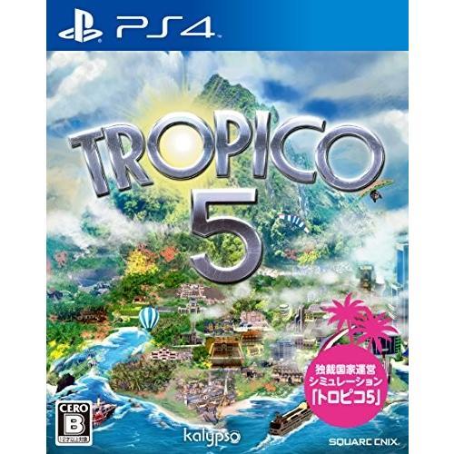 【新品】トロピコ5 - PS4【在庫限り】