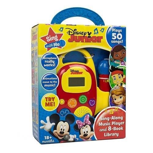 【送料無料】Disney Junior Sing with Me Sing-Along Music Player and 8-Book Libra