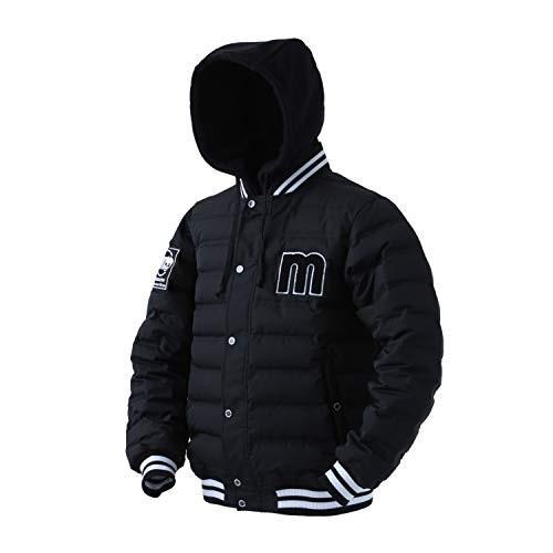 【送料無料】マズメ(MAZUME) ダウンジャケット 2019 MZDJ-397-02 ブラック L【在庫限り】