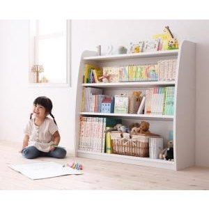 収納 本棚 本棚 ブックシェルフ シンプルデザイン キッズ収納家具シリーズ クレア 本棚 キッズ 送料無料
