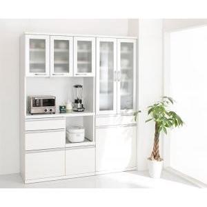 キッチン 収納 食器棚 薄型キッチン収納 スフィーダ 食器棚+キッチンボードセット 幅60+90 開梱設置付 送料無料
