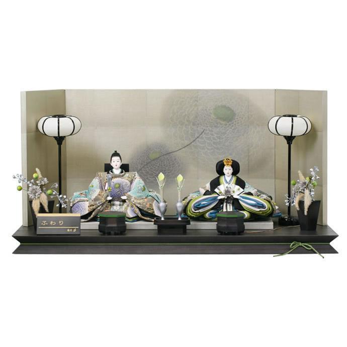 雛人形 ひな人形 雛 平飾り 親王飾り 藤匠作 ふわり goto-fuwari