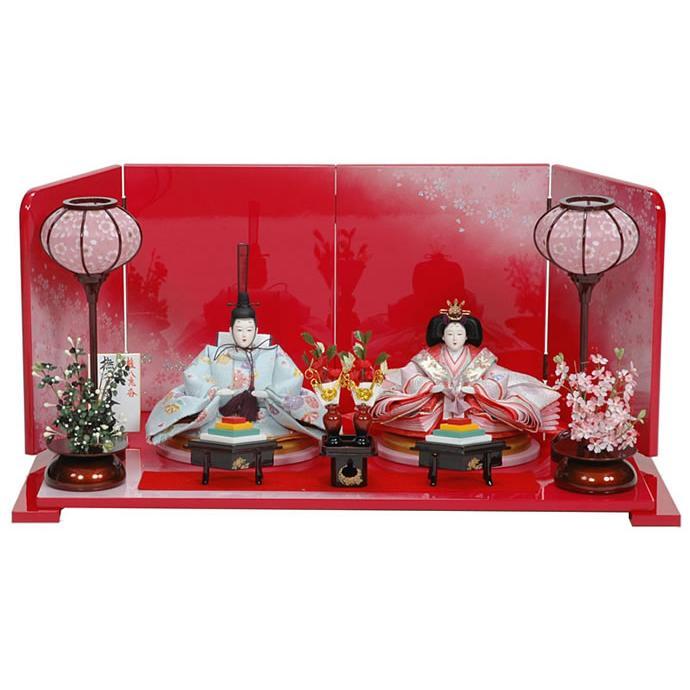 雛人形 ひな人形 雛 平飾り 親王飾り h243-ss-39a-127b
