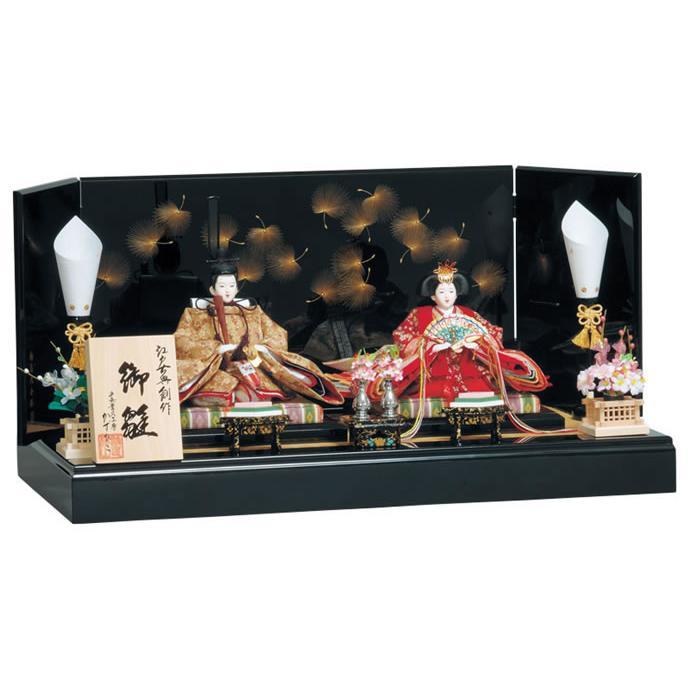 雛人形 ひな人形 雛 平飾り 親王飾り 雛匠かずひこ作 るか h243-mo-304427