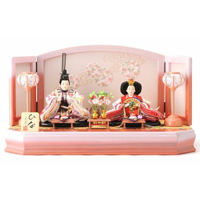 雛人形 ひな人形 雛 平飾り 親王飾り 美光作 きらめき ひな h243-sb-kira20