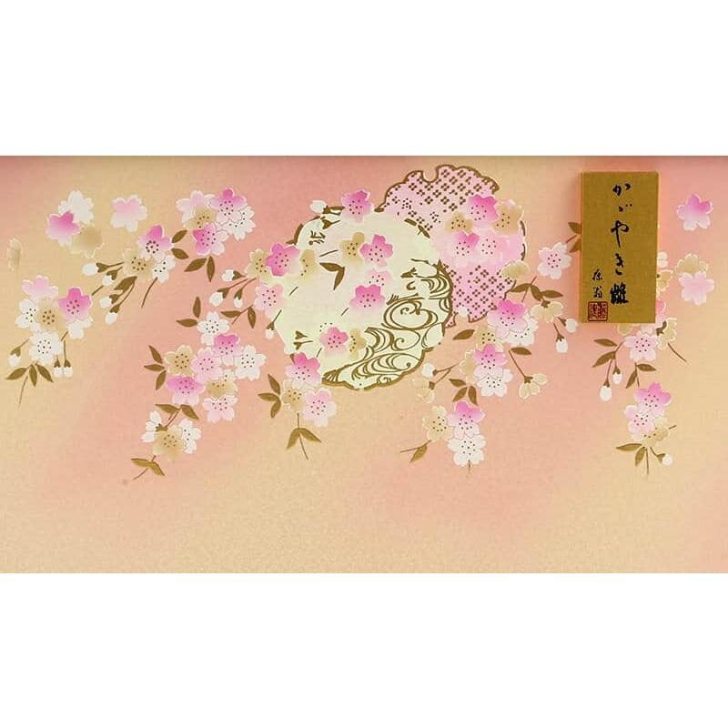雛人形 コンパクト ひな人形 雛 ケース飾り 五人飾り 藤翁作 美咲 三五芥子五人 金襴仕立 六角アクリルケース オルゴール付 h033-fn-193-525|asutsuku-ningyoya|12