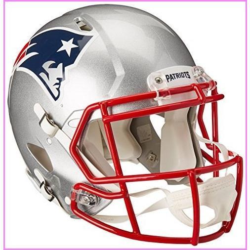 Riddell NFL New England Patriots Speed Authentic Football Helmet Red, Medium【並行輸入品】