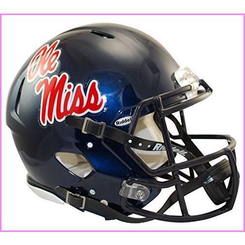 Riddell Mississippi Old Miss Rebels Speed Authentic Football Helmet【並行輸入品】