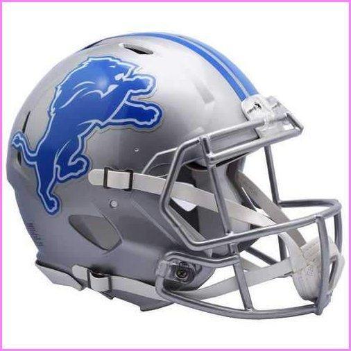 Riddell NFL Detroit Lions Speed Authentic Football Helmet【並行輸入品】