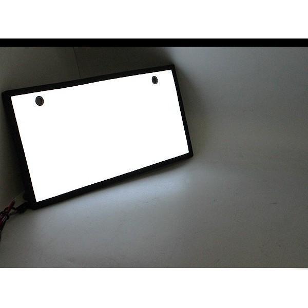 LED 電光ナンバー 字光式/超薄型3mm 2枚セット ナンバープレート ナンバーフレーム 外装パーツ|at-parts7117|05