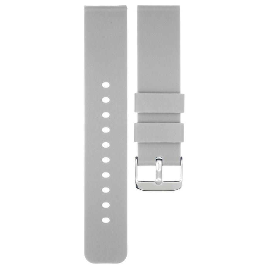 時計 ベルト 腕時計 バンド 18mm 20mm 22mm EMPIRE シリコン イージークリック atdigiplus 11