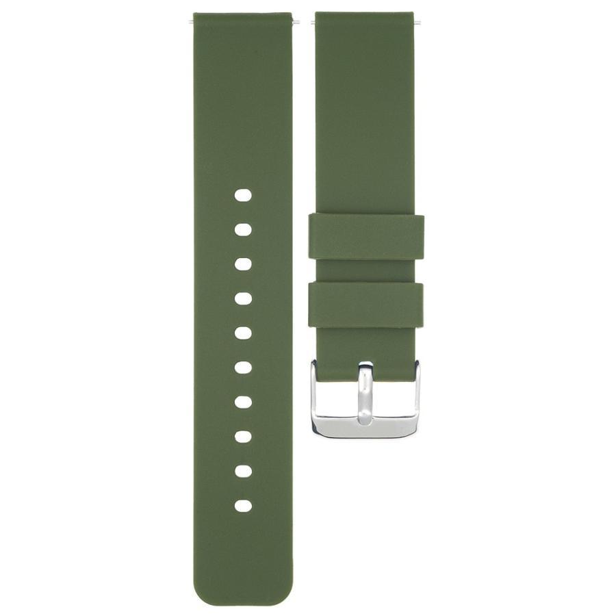 時計 ベルト 腕時計 バンド 18mm 20mm 22mm EMPIRE シリコン イージークリック atdigiplus 12