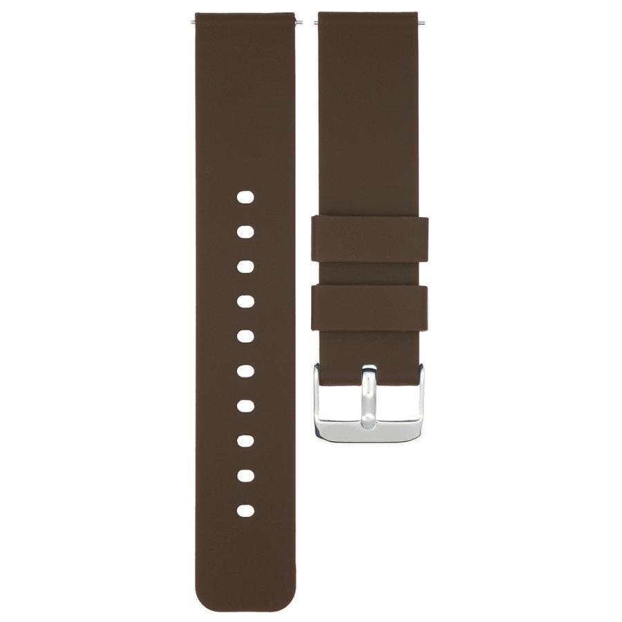 時計 ベルト 腕時計 バンド 18mm 20mm 22mm EMPIRE シリコン イージークリック atdigiplus 13