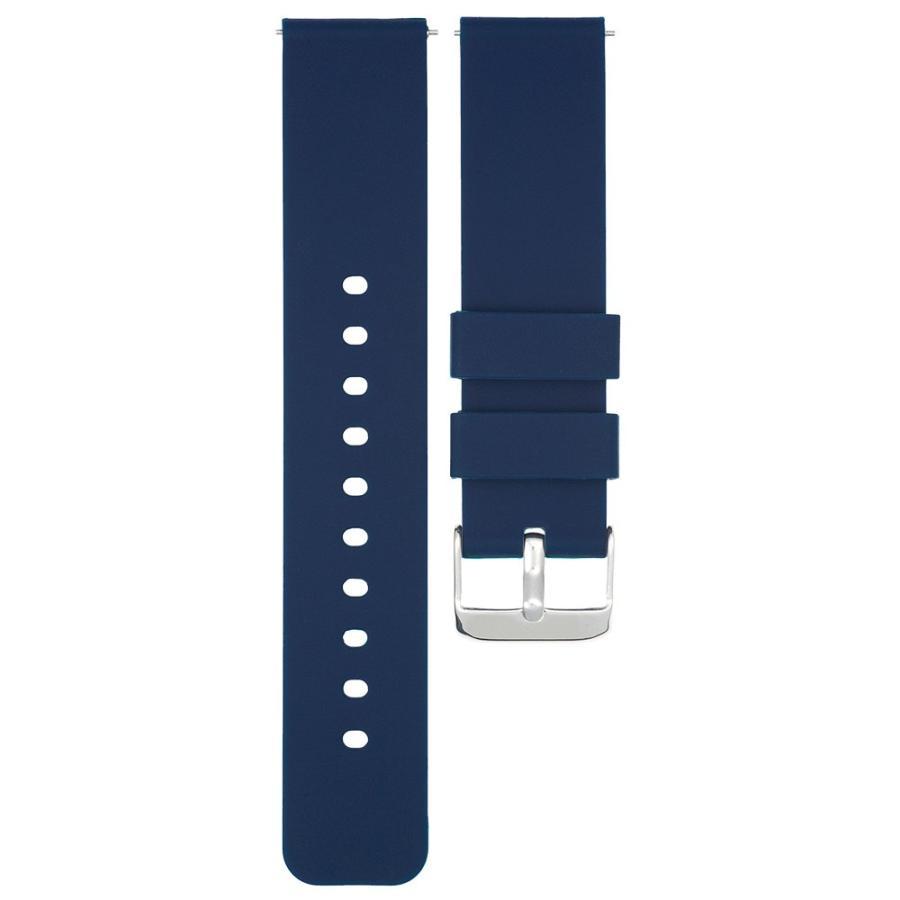 時計 ベルト 腕時計 バンド 18mm 20mm 22mm EMPIRE シリコン イージークリック atdigiplus 14