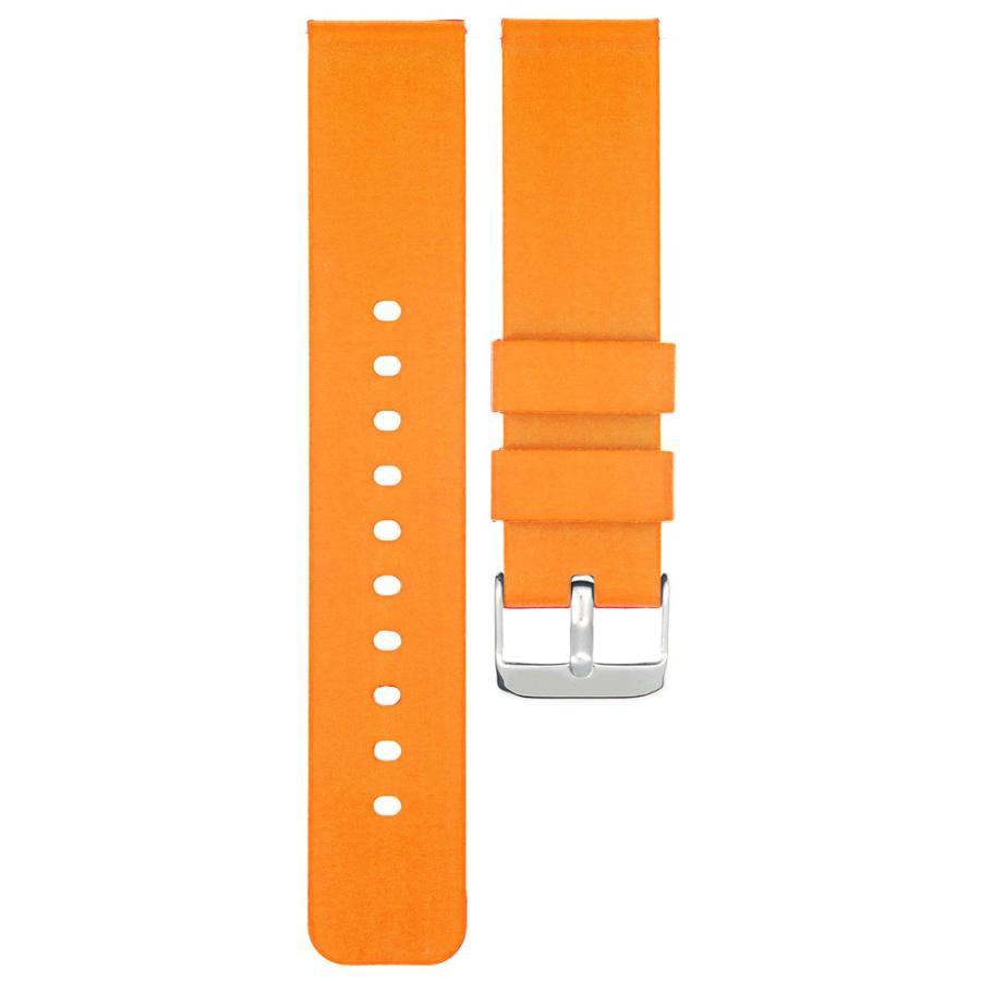 時計 ベルト 腕時計 バンド 18mm 20mm 22mm EMPIRE シリコン イージークリック atdigiplus 16