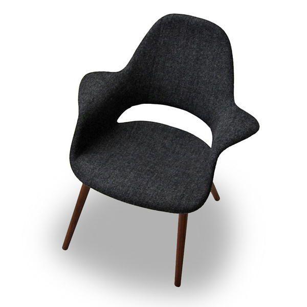 オーガニックチェア Organic Chair イームズ&サーリネン ウォールナット脚 リプロダクト ミッドセンチュリー 北欧モダン