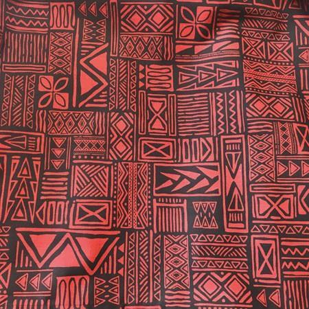 パウスカート 67cm 72cm 77cm ウエスト無地 タパ柄 スクエア 〈 ブラック レッド 〉 送料無料 ハワイアン フラダンス 日本製 母の日 プレゼント|atelier-ayumi|04