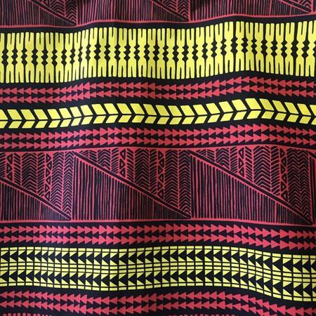 パウスカート 67cm 72cm 77cm ウエスト無地 タパ柄 〈 ブラック レッド イエロー 〉 送料無料 ハワイアン フラダンス 日本製 母の日 プレゼント|atelier-ayumi|04