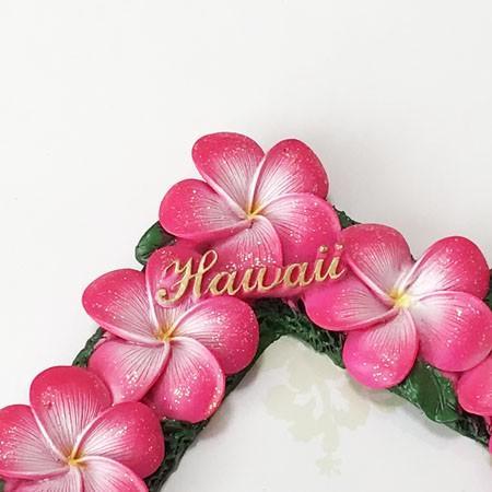 プルメリア フォトフレーム ピンク ハワイアン雑貨 写真立て 結婚式 ハワイアンウエディングに 卒業式などの思い出作りに 南国 トロピカル 芳香剤 atelier-ayumi 03