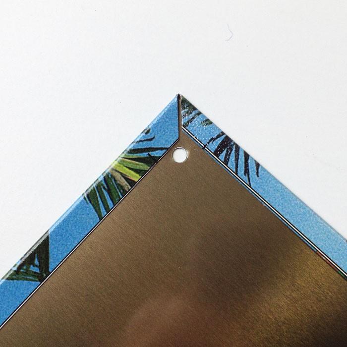 〈ブリキ看板〉桟橋の下のカラフルサーフボード〈ハワイアン雑貨〉〈アメリカン雑貨〉ティンプレート・ティンサイン・サインプレート ハワイアンインテリア|atelier-ayumi|03