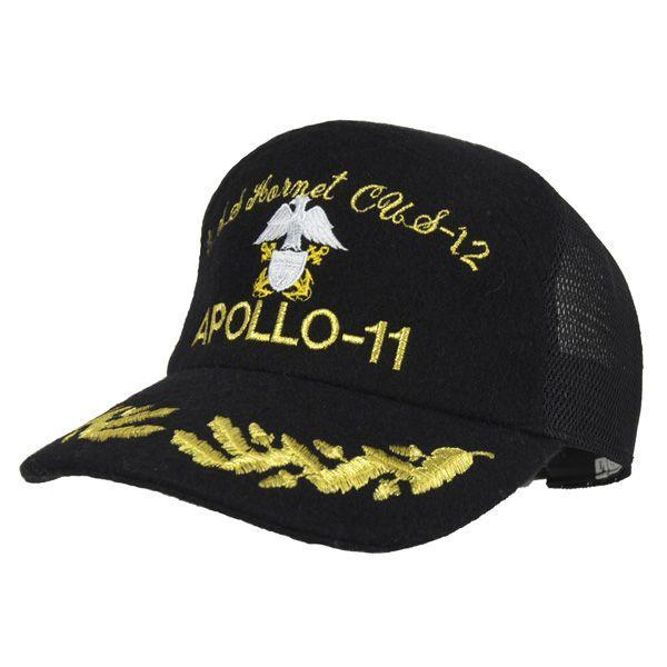 帽子 キャップ ベースボールキャップ【APOLLO】 S/M/L/LL/3L対応 どら猫オリジナルB-CAP|atelier-doraneko