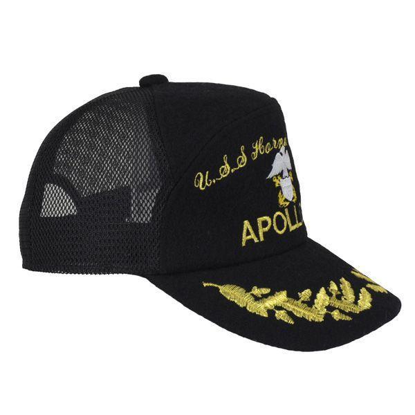 帽子 キャップ ベースボールキャップ【APOLLO】 S/M/L/LL/3L対応 どら猫オリジナルB-CAP|atelier-doraneko|03