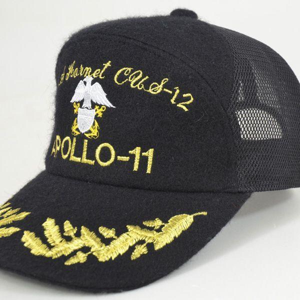 帽子 キャップ ベースボールキャップ【APOLLO】 S/M/L/LL/3L対応 どら猫オリジナルB-CAP|atelier-doraneko|06