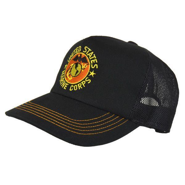 帽子 キャップ ベースボールキャップ【USMC】 どら猫オリジナルB-CAP|atelier-doraneko