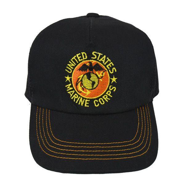 帽子 キャップ ベースボールキャップ【USMC】 どら猫オリジナルB-CAP|atelier-doraneko|02