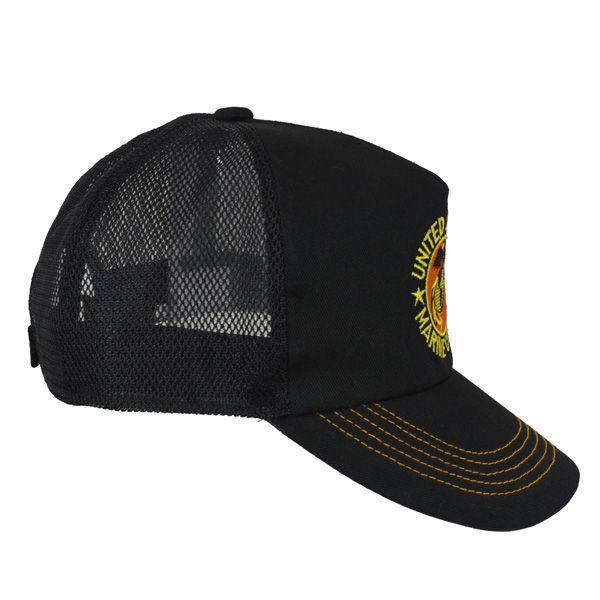 帽子 キャップ ベースボールキャップ【USMC】 どら猫オリジナルB-CAP|atelier-doraneko|03