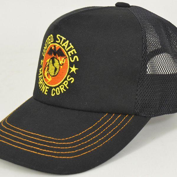 帽子 キャップ ベースボールキャップ【USMC】 どら猫オリジナルB-CAP|atelier-doraneko|06