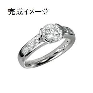ジュエリーリフォーム 指輪 リング空枠0.8ct-1ct前後(直径6.5mm前後)用LL 出番の多いデザイン