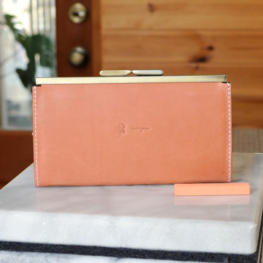 ガマ口の長財布 No.1 ブッテーロ|ateliergungnir
