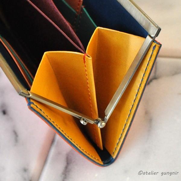 ガマ口の長財布 No.2 ブッテーロ|ateliergungnir|04