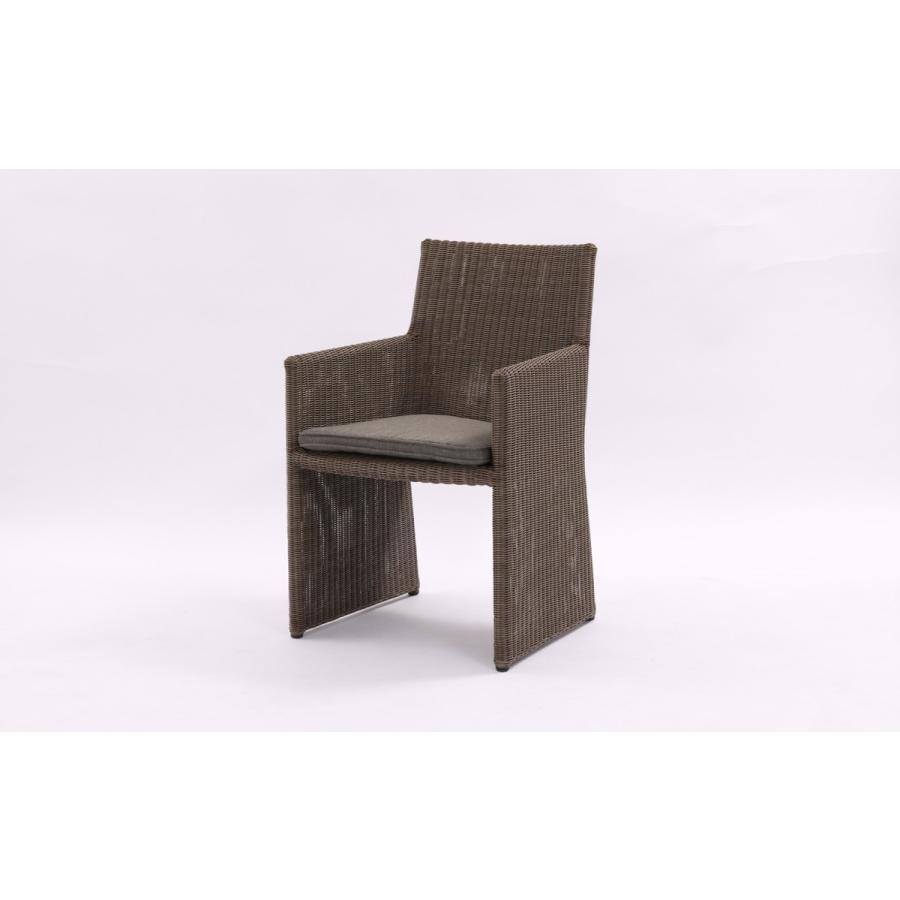 チェア 椅子 ラタン調 エンジェル リゾートガーデン アームチェア 1人掛け ガーデンチェア