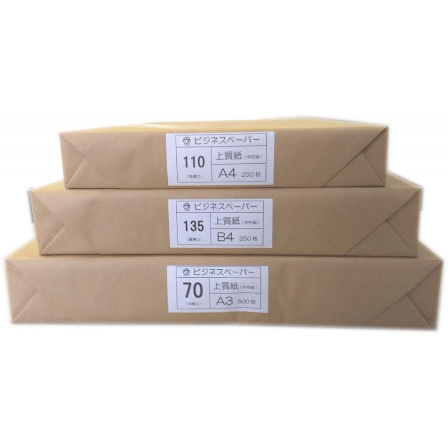 マルウ ビジネスペーパー 110Kg A3 250枚入り 上質紙/印刷用紙/レーザー/コピー/インクジェット対応 atiku-h