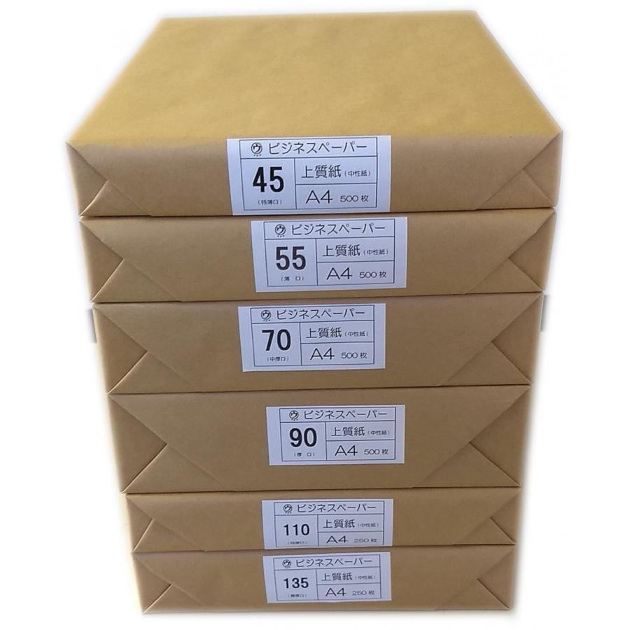 マルウ ビジネスペーパー 135Kg A4 250枚入り 2穴 30穴 上質紙/印刷用紙/レーザー/コピー/インクジェット対応 atiku-h