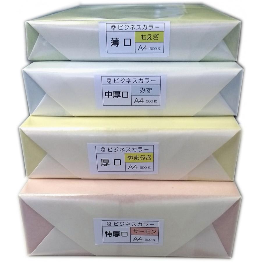 マルウ ビジネスカラー A4 厚口 500枚入り 全32色 色上質紙/印刷用紙/レーザー/コピー/インクジェット対応|atiku-h|05