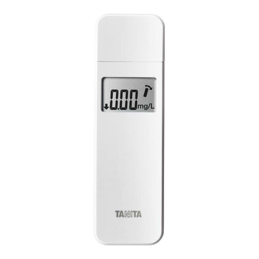 【送料無料·まとめ買い×24個セット】タニタ アルコール チェッカー ホワイト EA-100-WH