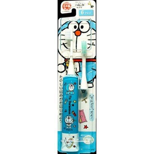 【送料無料·まとめ買い×120個セット】ミニマム ドラえもんハピカ ブルー 電動歯ブラシ