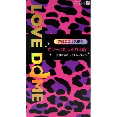 コンドーム オカモト ラブドーム パンサー グリーン 12個入り ×144点セット 【まとめ買い特価!】